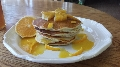 Az Red Lime Marmalade Pancakes with Sunny Citrus Syrup